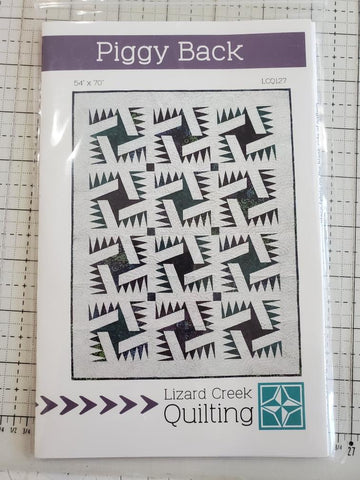 Piggy Back Quilt Pattern by Lizard Creek Quilting