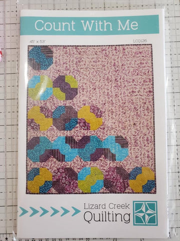 Count With Me Quilt Pattern by Lizard Creek Quilting