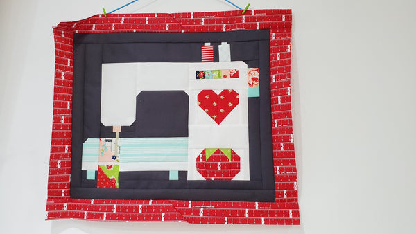 Stitched With Love Quilt Kit