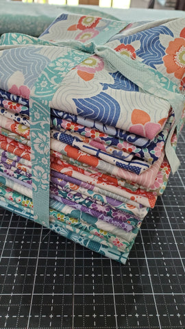 """Lazy Days"" Tilda Lazy Days Fat Quarter Bundle Multi"