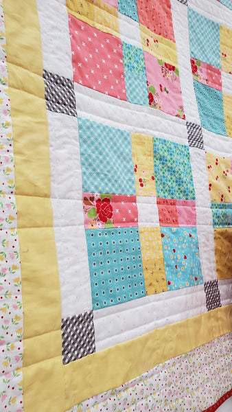 Harmony Quilt Kit-pattern by Carried Away Quilting