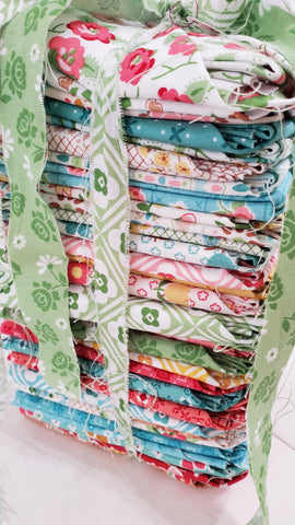 """Granny Chic"" Fat Quarter Bundle 34 Pcs. by Lori Holt of Bee in My Bonnet for Riley Blake"