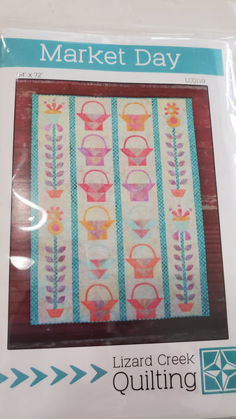 Market Day Quilt Pattern by Lizard Creek Quilting