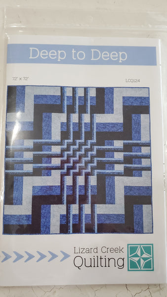Deep To Deep Quilt Pattern by Lizard Creek Quilting