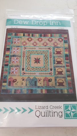 Dew Drop Inn Quilt Pattern by Lizard Creek Quilting