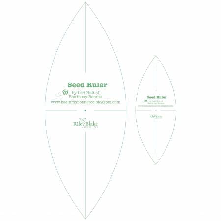 Lori Holt Seed Ruler Set, 2pcs by Lori Holt of Bee in my Bonnet