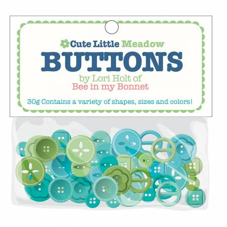 """Cute Little Buttons"" Meadow Assortment by Lori Holt of Bee in My Bonnet"