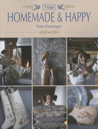 Tilda Homemade & Happy - Softcover by Tone Finnanger