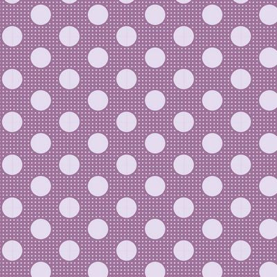 """Tilda Dots""-Medium Dots Lilac by Tone Finnanger for Tilda"