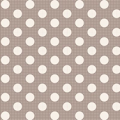 """Tilda Dots""-Medium Dots Grey by Tone Finnanger for Tilda"