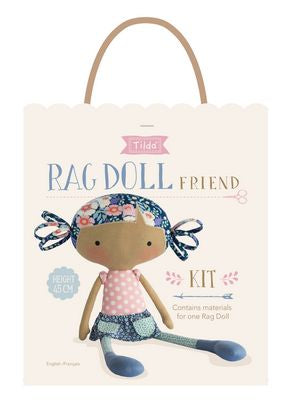 Tilda Bird Pond Collection-Rag Doll Friend Kit