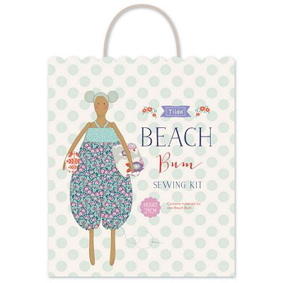 """Lazy Days"" Tilda -Sewing Kit Beach Belle"