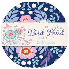 """Bird Pond""- Tilda Bird Pond Fat Quarter Bundle"