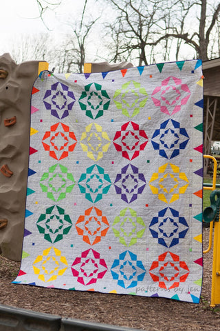 Softly Circled Quilt Pattern by Jennifer Shaffer of Patterns by Jen