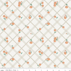 """Calico Crow"" Plaid Cream by Lauren Nash for Penny Rose"