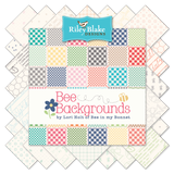 """Bee Backgrounds"" 5"" Stacker 42 Pcs. by Lori Holt of Bee in My Bonnet for Riley Blake"