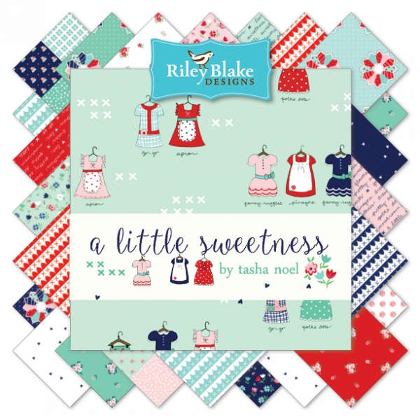 """A Little Sweetness""- 24 pc Fat Quarter Bundle by Tasha Noel"