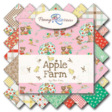 Apple Farm-Apple Main Pink by Elea Lutz for Penny Rose Fabrics