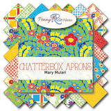 "Chatterbox Aprons 10""Stacker 42pcs by Mary Mulari for Penny Rose Fabrics"