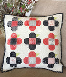 Perky Posies Pillow Pattern by Taunja Kelvington of Carried Away Quilting
