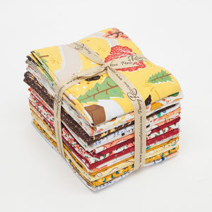 """Calico Crow""- 21 pc Fat Quarter Bundle 18""x22"" cuts by Lauren Nash"