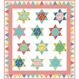 Milk Glass Stars Quilt Pattern by Kelli Fannin Quilt Designs