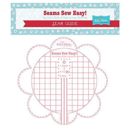 Seams Sew Easy Bee In My Bonnet Seam Guide Color Pink