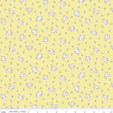 Apple Farm-Apple Chickadee Yellow by Elea Lutz for Penny Rose Fabrics
