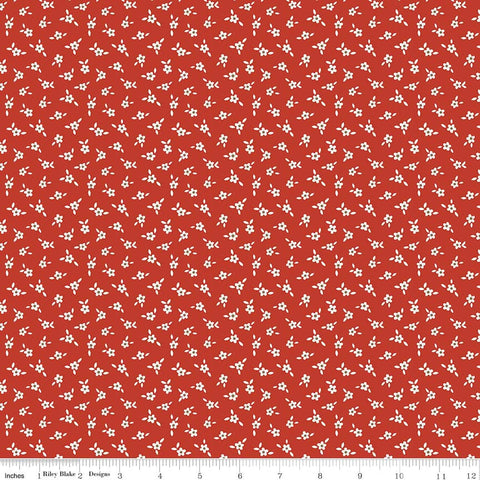 Apple Farm-Apple Blossom Red by Elea Lutz for Penny Rose Fabrics