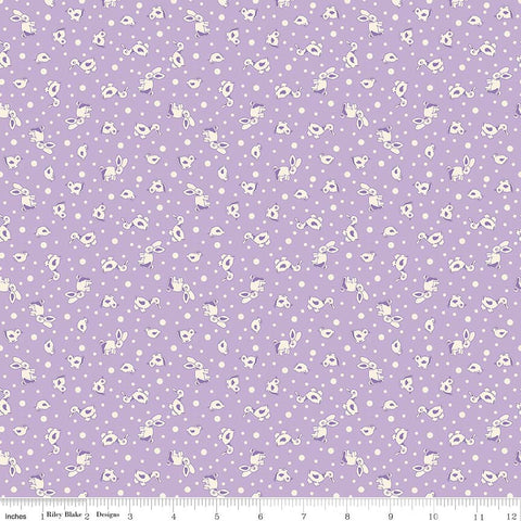 """Toy Chest 2""-Toy Animals Purple for Penny Rose Fabrics"