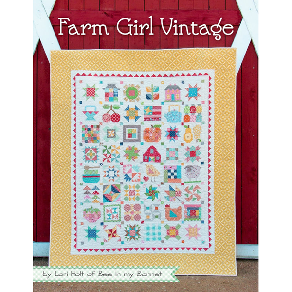 Farm Girl Vintage Book by Lori Holt for It's Sew Emma