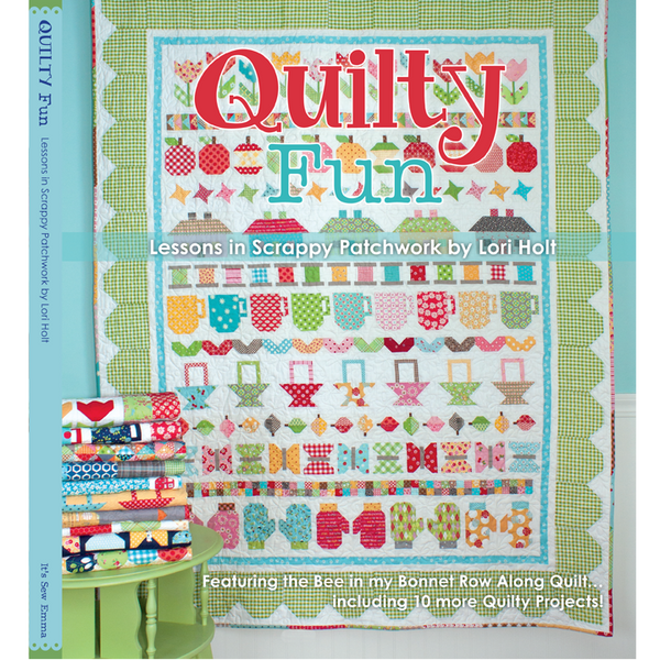 Quilty Fun Book by Lori Holt for It's Sew Emma