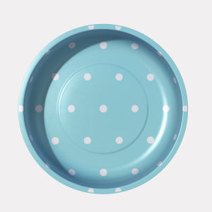 Pleasant Home's Magnetic Pin Bowl Aqua Dots