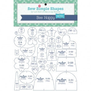 """Bee Happy"" Sew Simple Shapes by Lori Holt of Bee in my Bonnet"