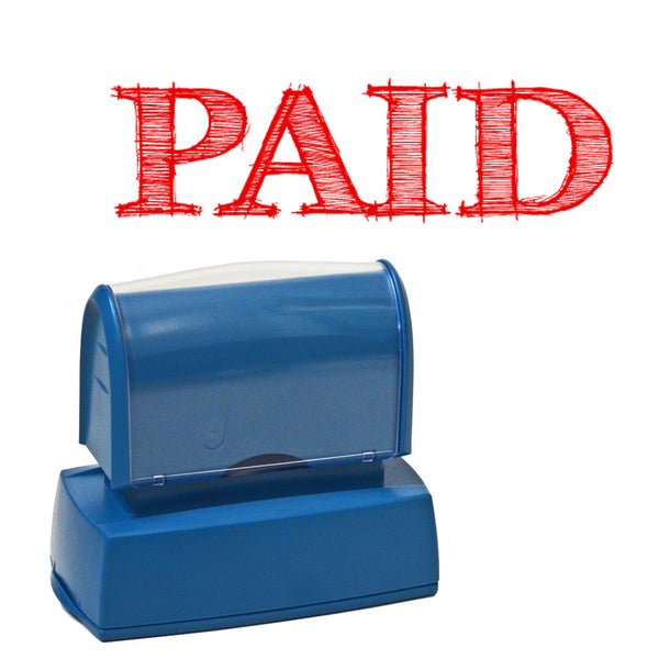 Business Paid Stamper - For business, office or home use