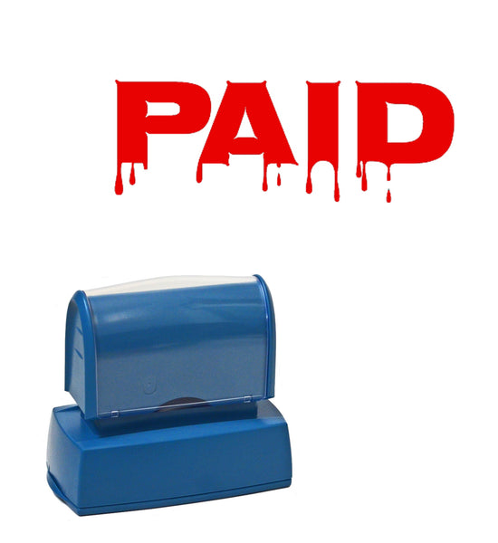 "Business Stamp ""Paid funny"""