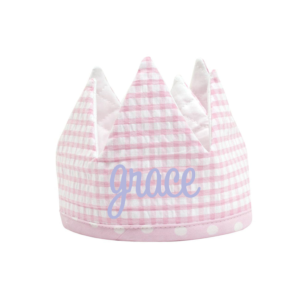 Pink Birthday Crown