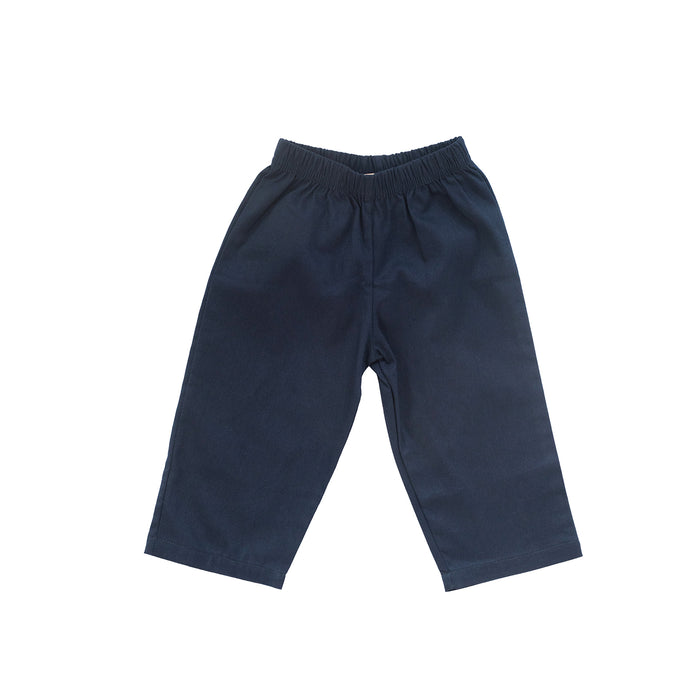 Navy Twill Pants