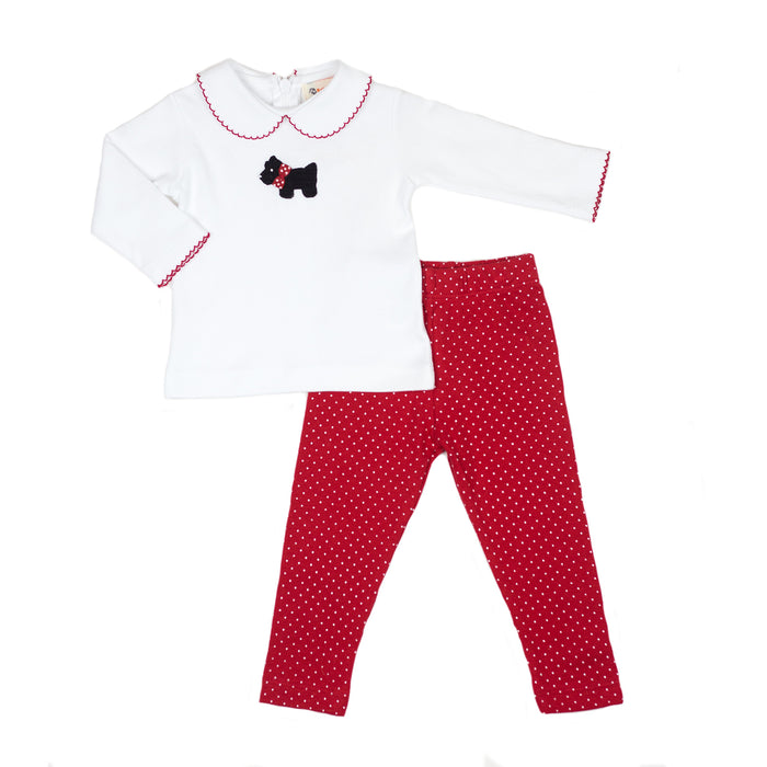 Scottie Dog Knit Play Set