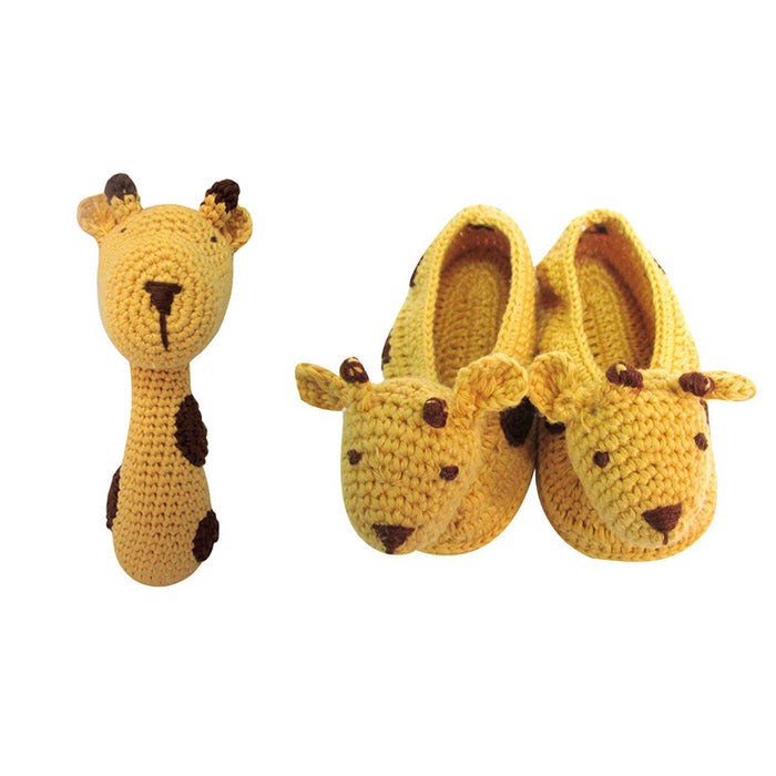 Crochet Giraffe Set