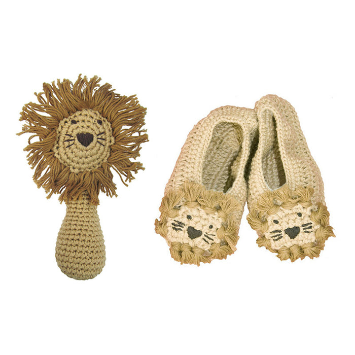 Crochet Lion Set