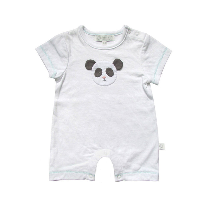 Panda Applique Romper
