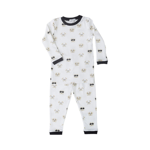 Bulldog Pajamas in Black