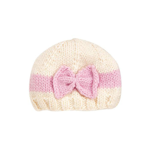 Classic Bow Knit Hat <br/> (See More Colors)