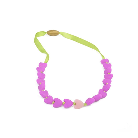 Juniorbeads Spring Heart Necklace