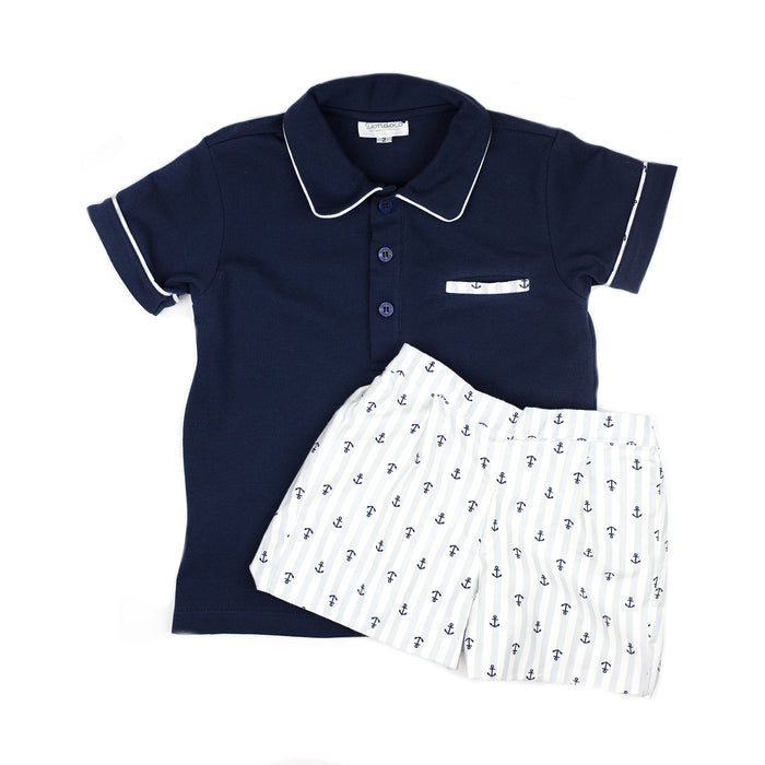 Anchor Polo Set for Him