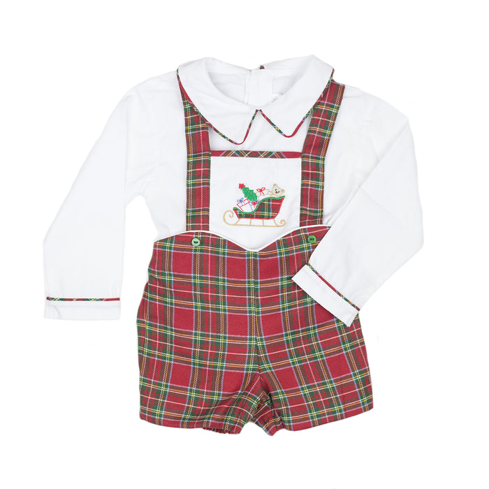 Ford Holiday Tartan Overall Set