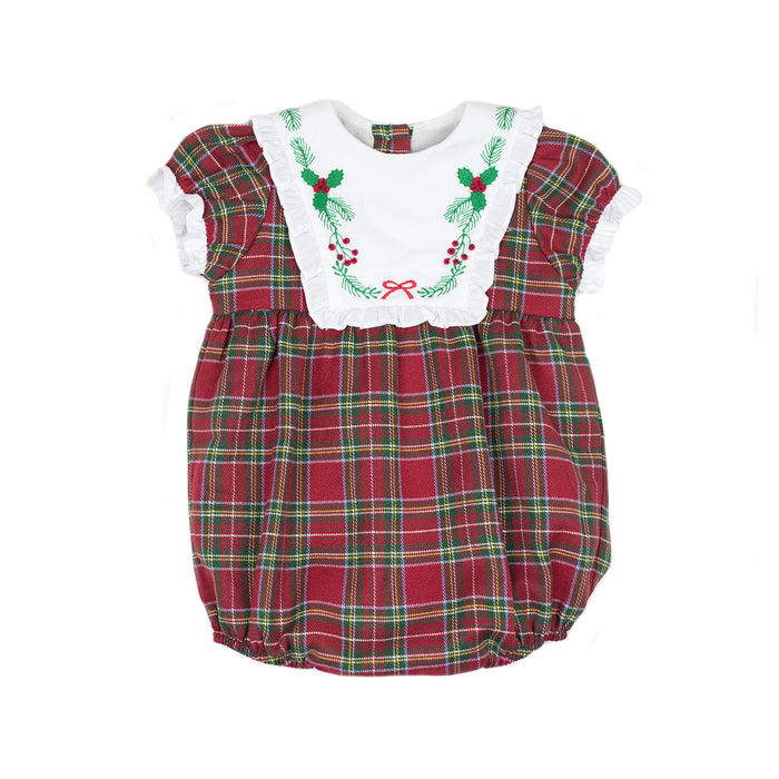 Frances Holiday Tartan Bubble