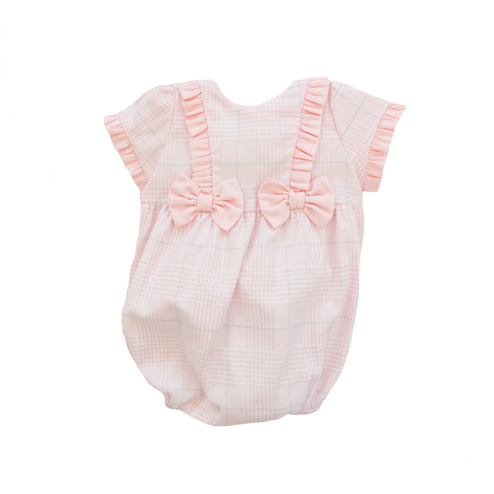Lucille Pink Bow Bubble