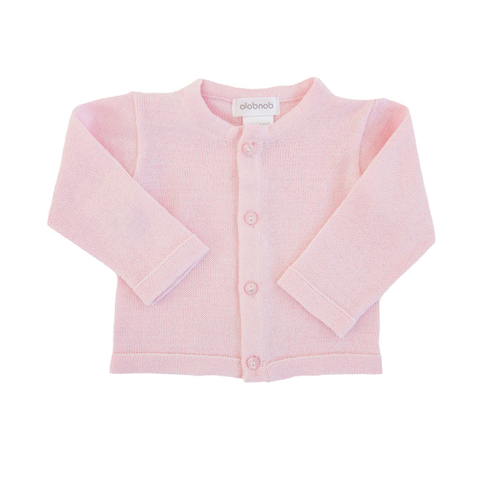 Light Pink Cardigan Sweater